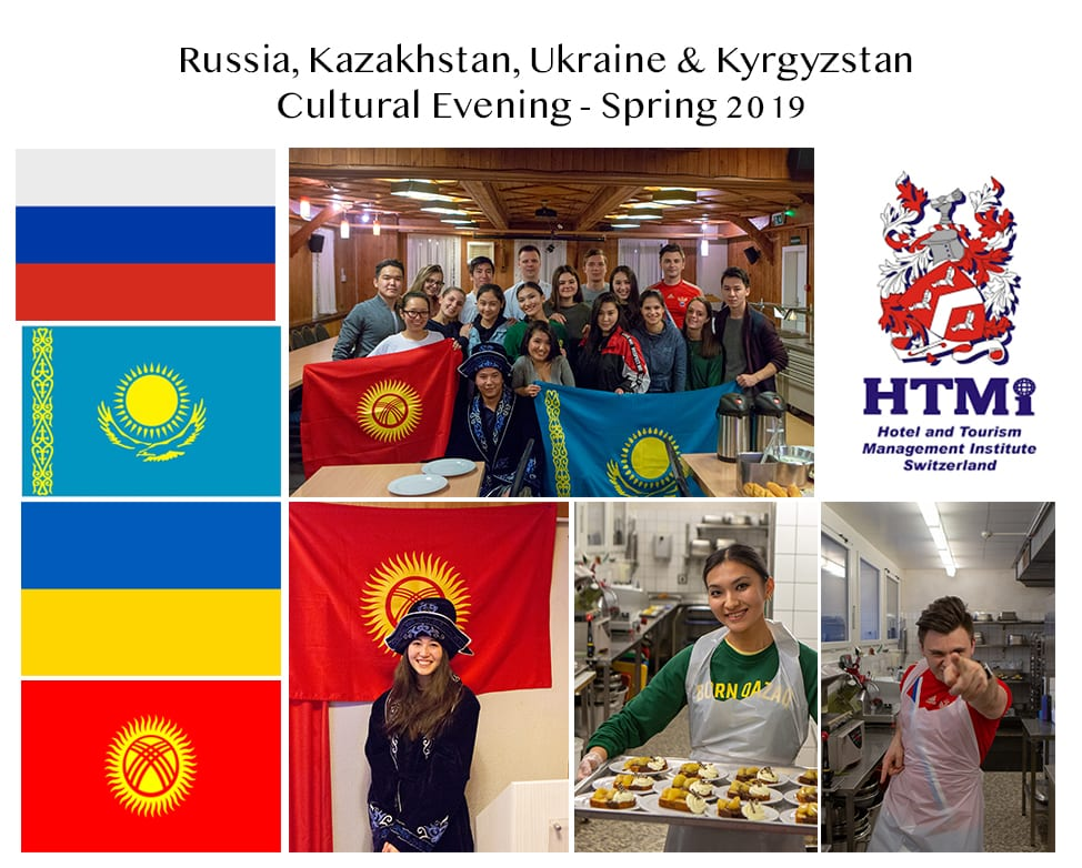 Russia, Kazakhstan, Ukraine and Kyrgyzstan Cultural Evening – Spring 2019