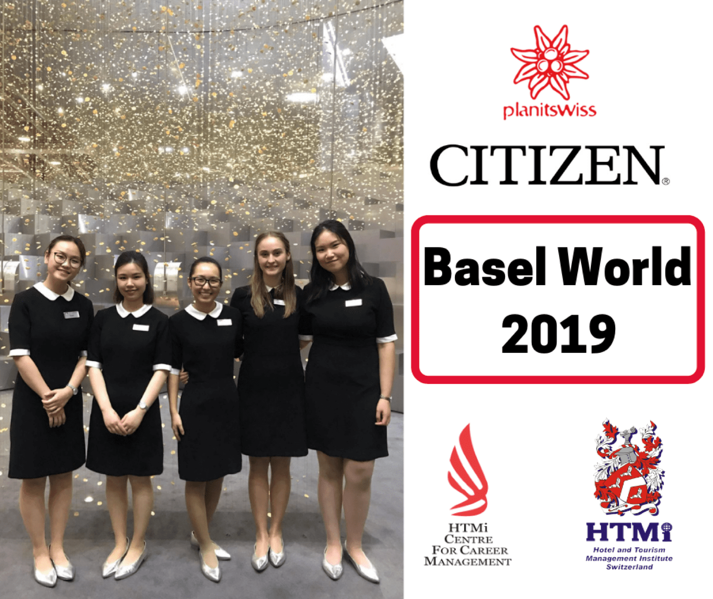 HTMi Students supporting Basel World 2019