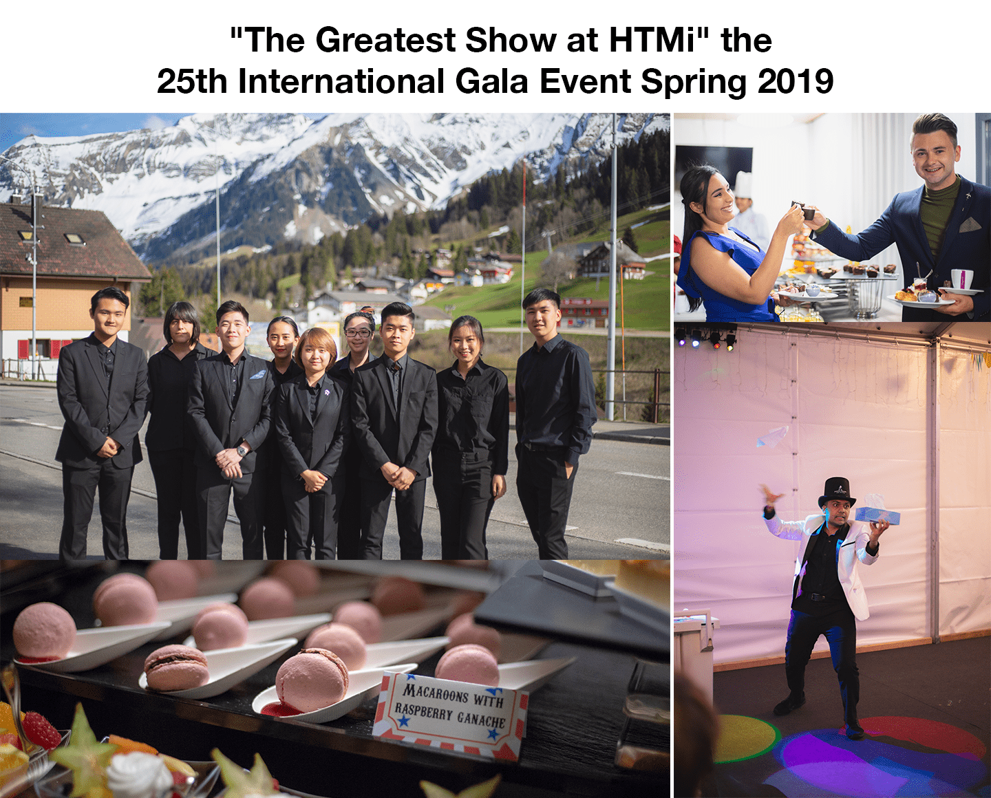 """The Greatest Show at HTMi"" the 25th International Gala Event Spring 2019"