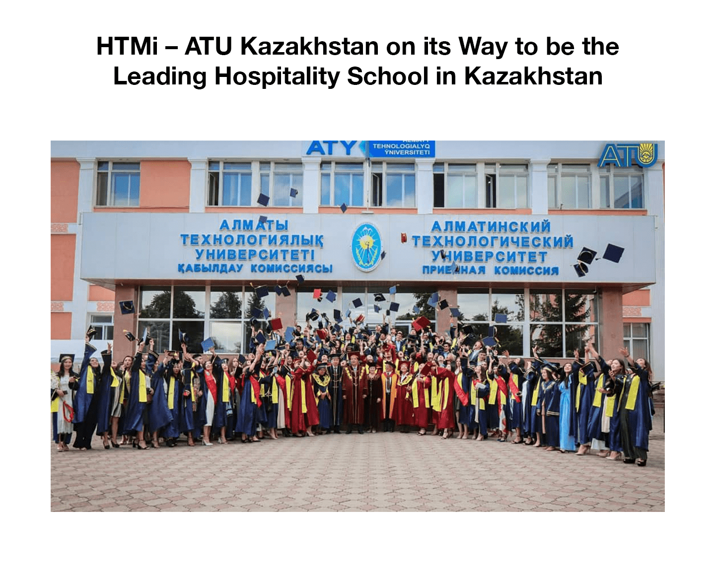 HTMi – ATU Kazakhstan on its Way to be the Leading Hospitality School in Kazakhstan