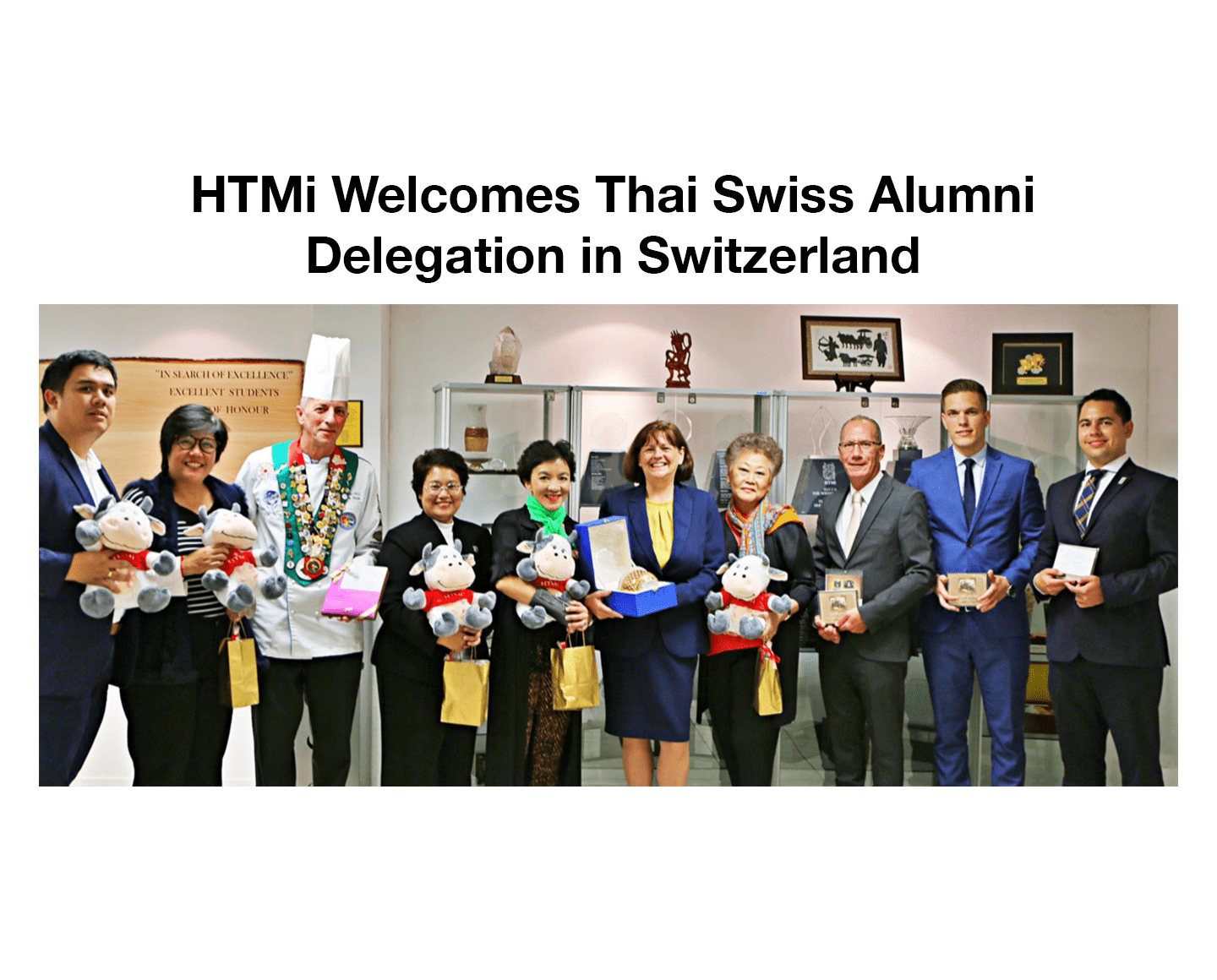 HTMi Welcomes Thai Swiss Alumni Delegation in Switzerland