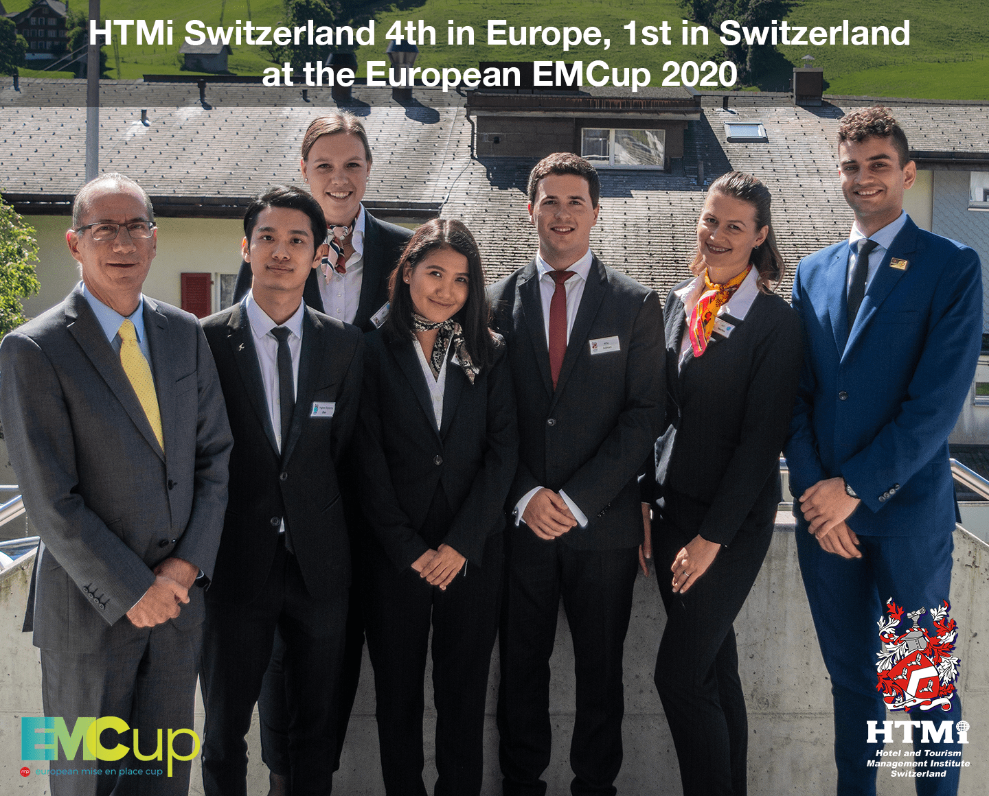 HTMi Switzerland 4th in Europe, 1st in Switzerland at the European EMCup 2020