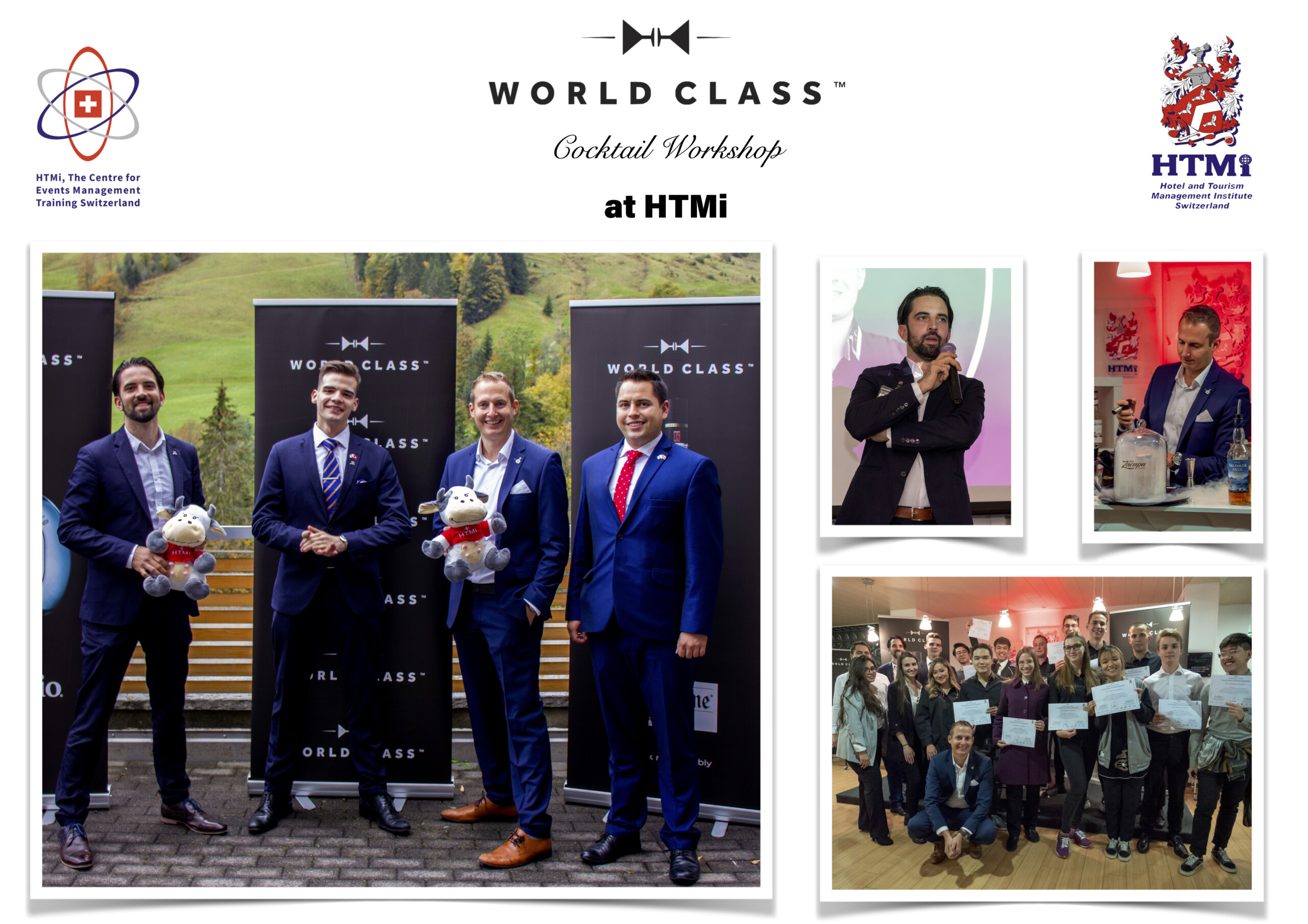 World Class Cocktail Workshop at HTMi Switzerland