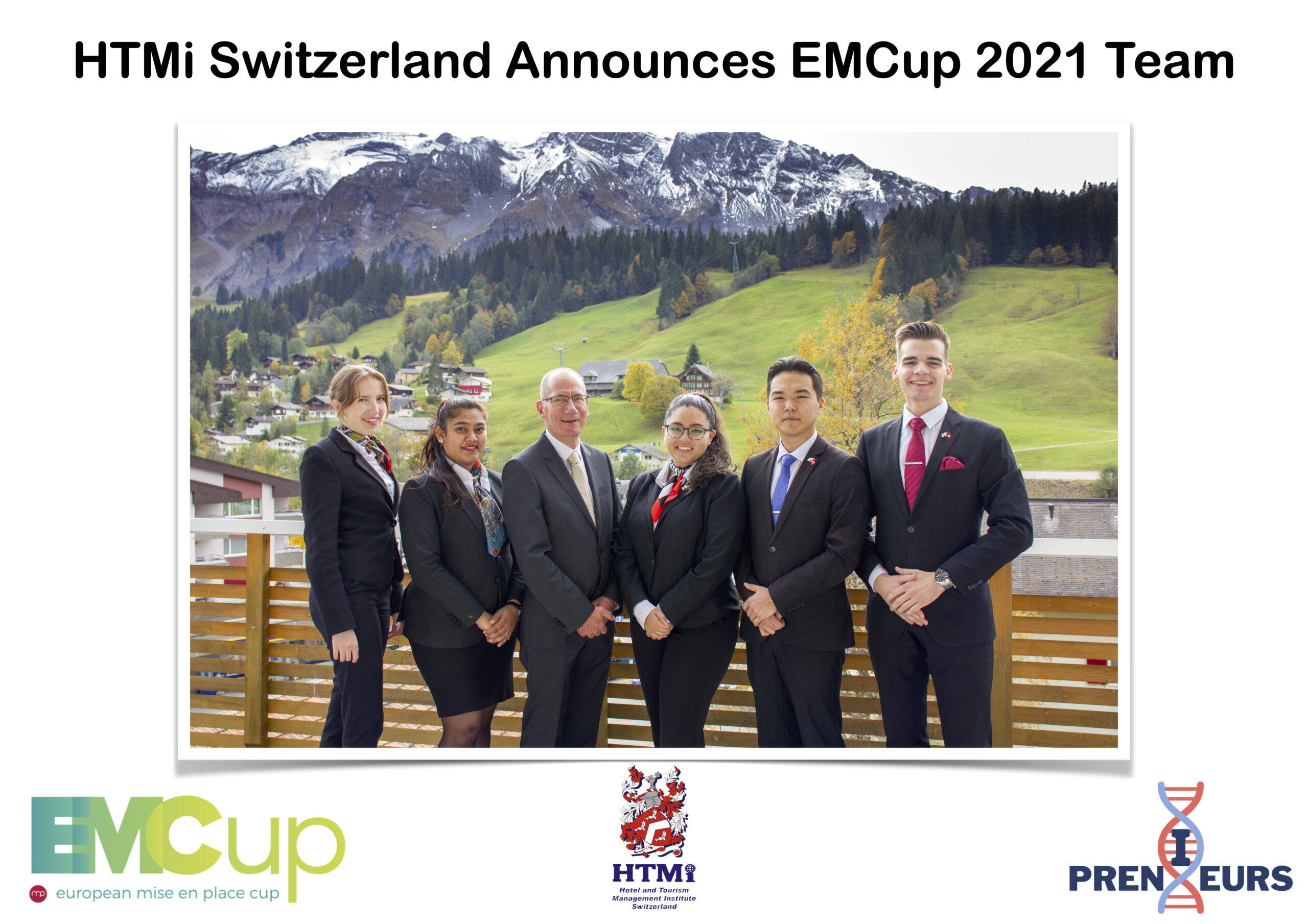 HTMi Switzerland Announces EMCup 2021 Team