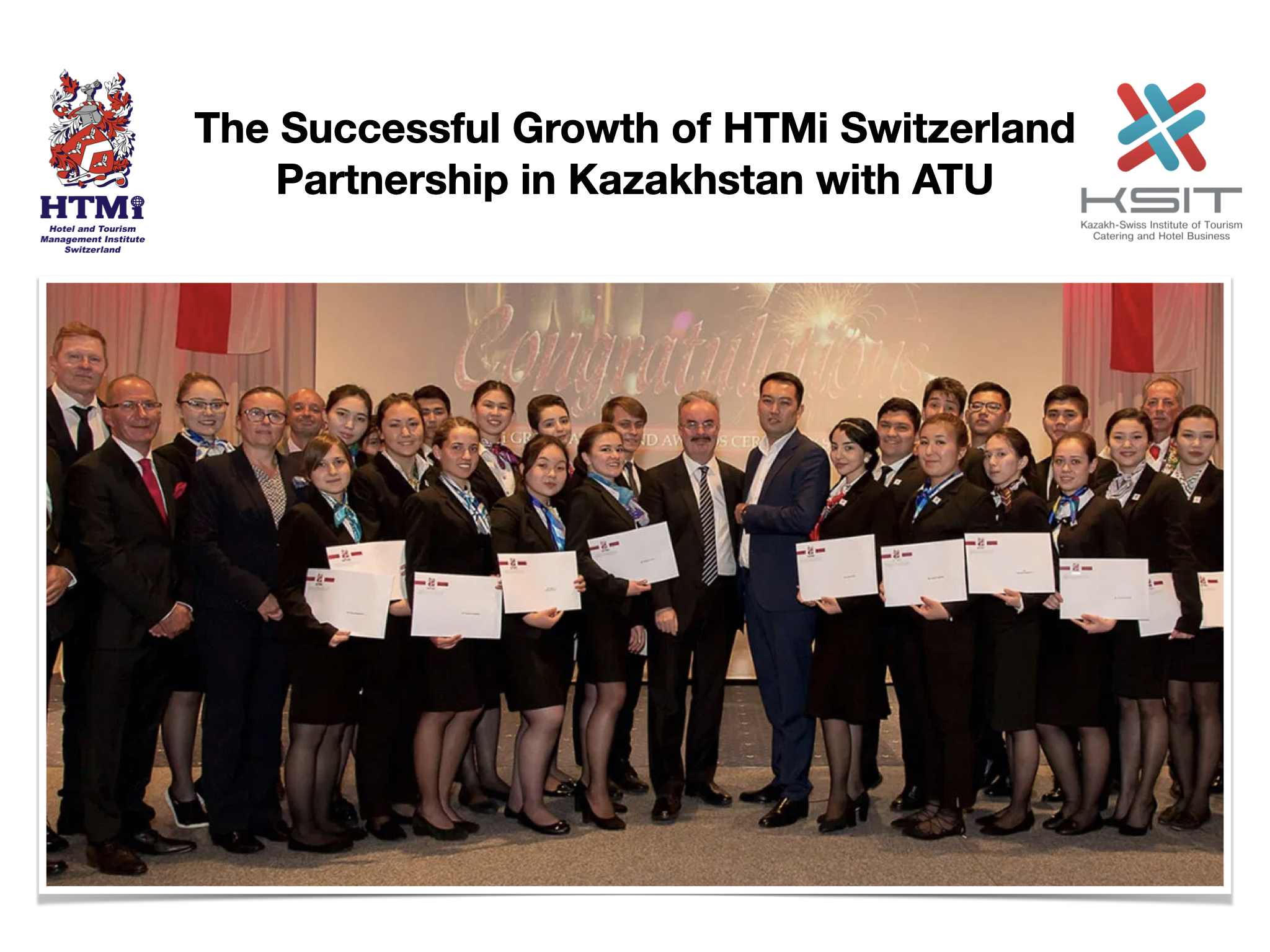 The Successful Growth of HTMi Switzerland Partnership in Kazakhstan with ATU