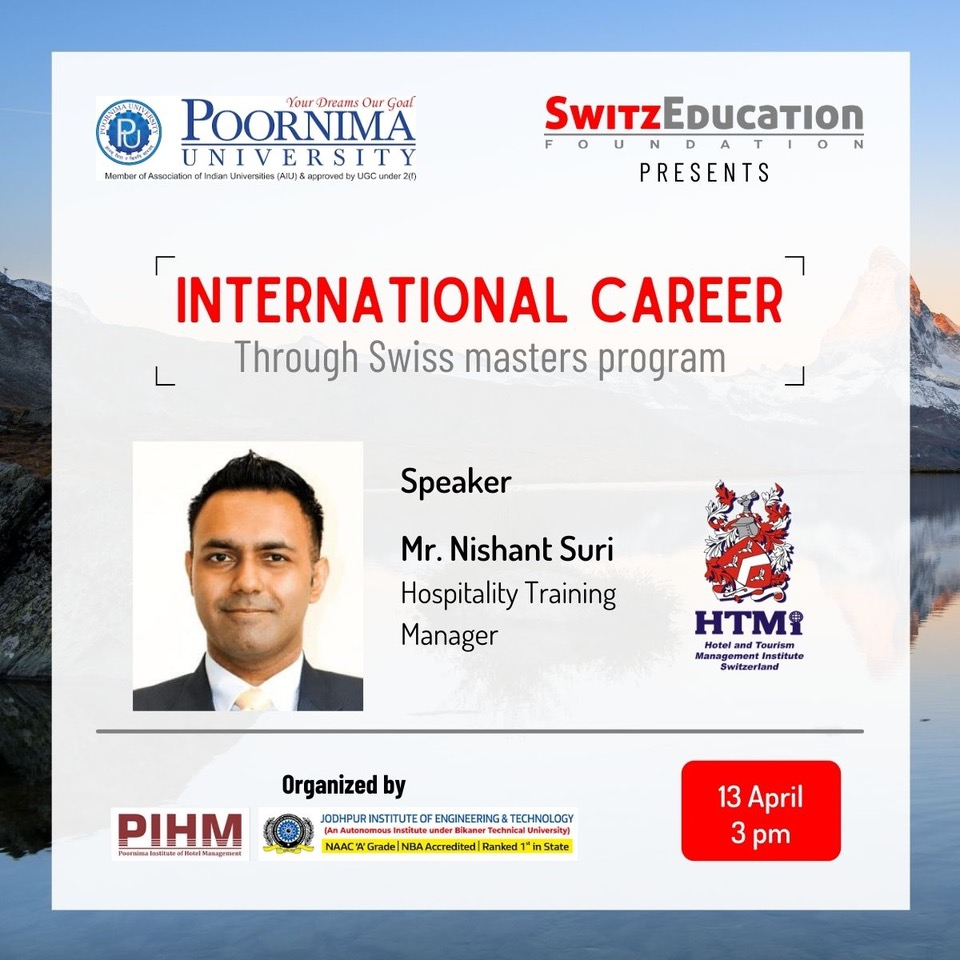 International Career through Swiss Master Programme